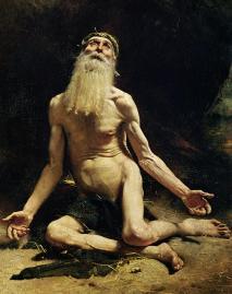 Job Painting by Leon Joseph Florentin Bonnat