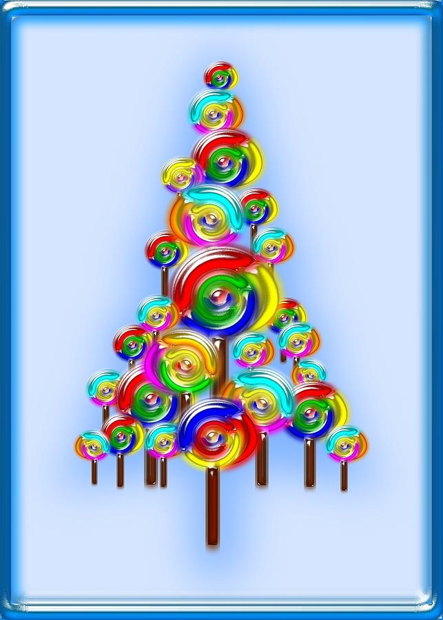 Lollipop Tree Digital Art By Anastasiya Malakhova