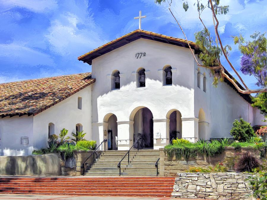 Obispo San De Tolosa Mission Picture High Luis