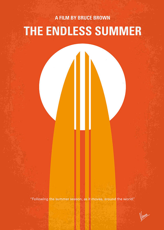 no274 my the endless summer minimal movie poster by chungkong art