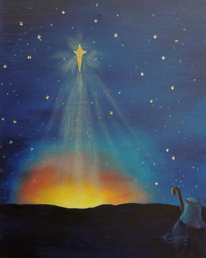 O Holy Night Painting By Connie Townsend