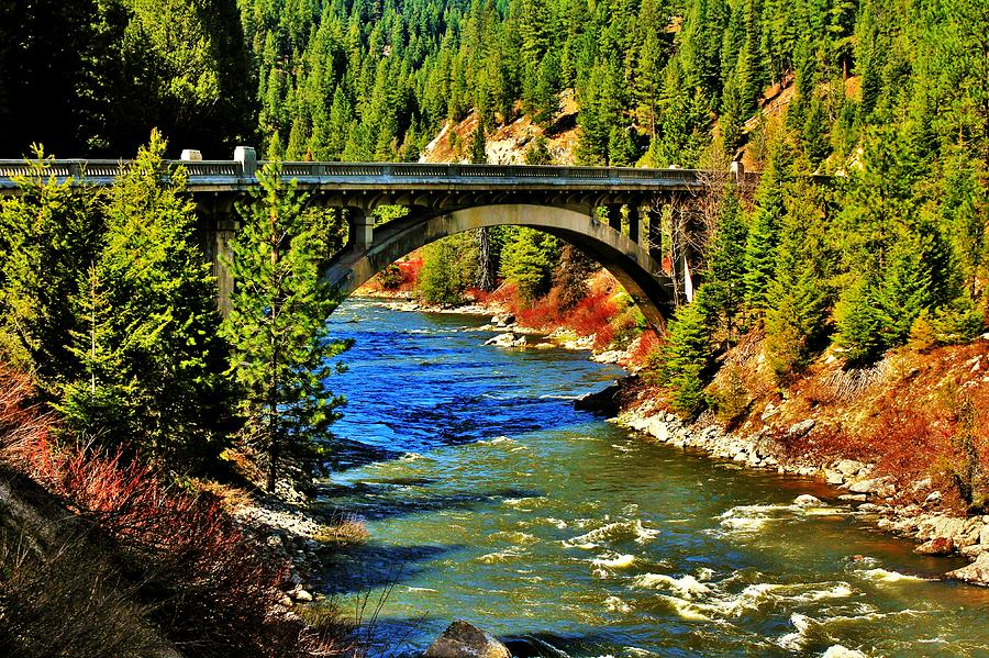 Payette River Scenic Byway Photograph By Benjamin Yeager