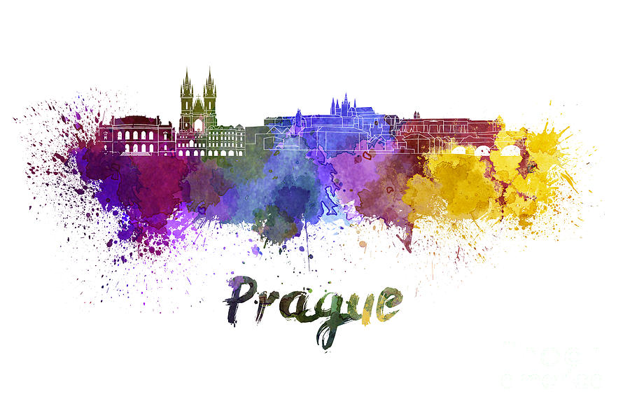 Image result for Prague skyline