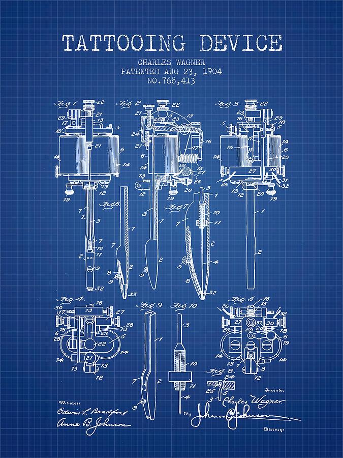 tattoo machine frame blueprints | Framess.co