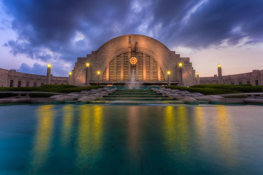 Union Terminal Cincinnati Museum Center Photograph By