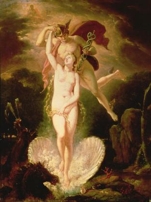 Image result for venus & mercury painting