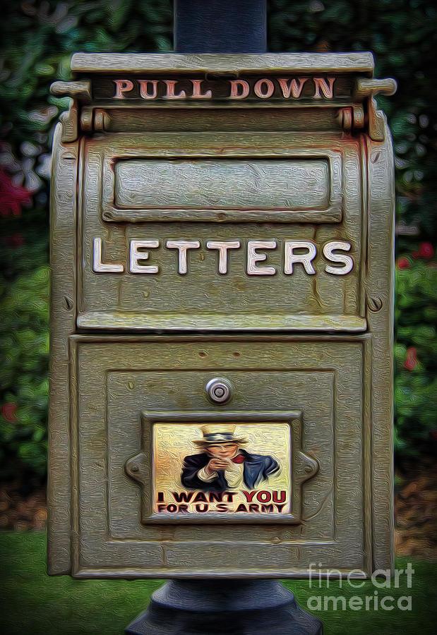 Vintage Us Mailbox II Photograph By Lee Dos Santos