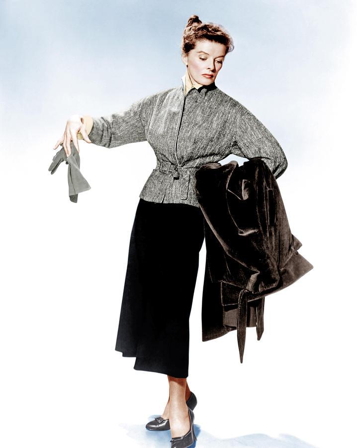 Katharine Hepburn as Bunny Watson in Desk Set