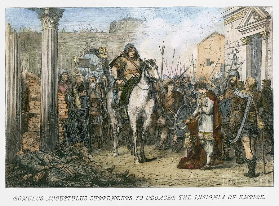 Resultado de imagen de roma 476