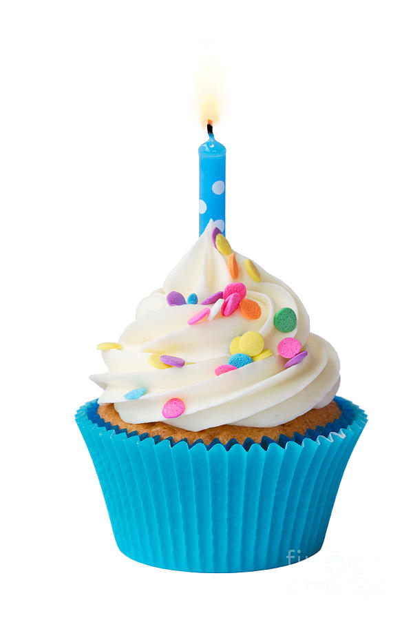 Birthday Cupcake Photograph By Ruth Black