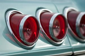 1965 Chevrolet Impala Ss Tail Light Photograph by Jill Reger