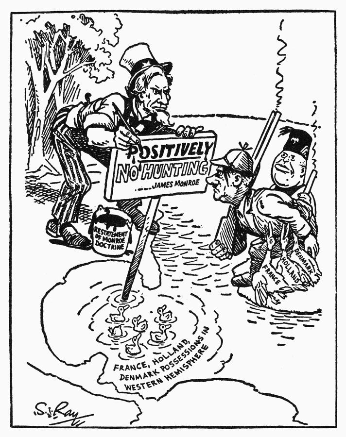 Monroe Doctrine Political Cartoon Worksheet