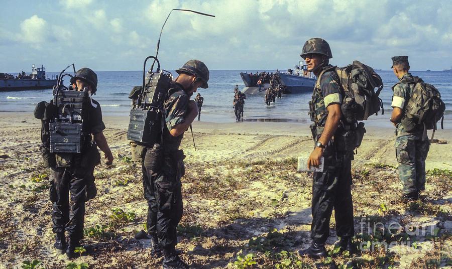 Marine Corps Beach Landing