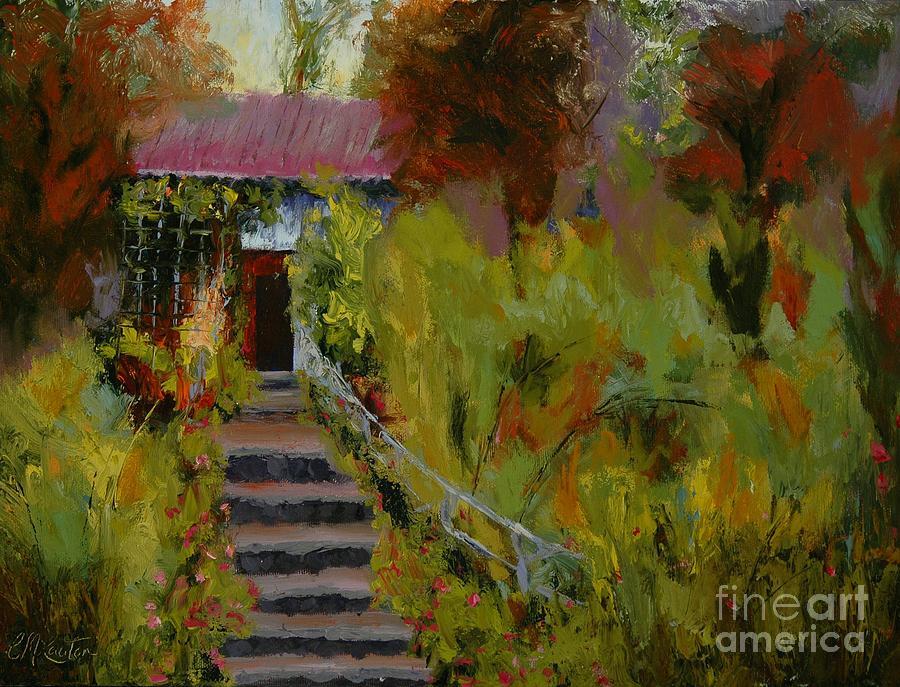 Monet's Garden Cottage By Colleen Murphy