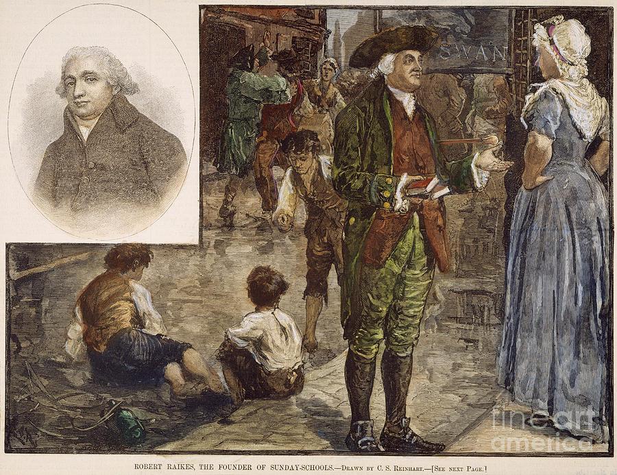 Robert Raikes Robert Raikes 17351811 by Granger