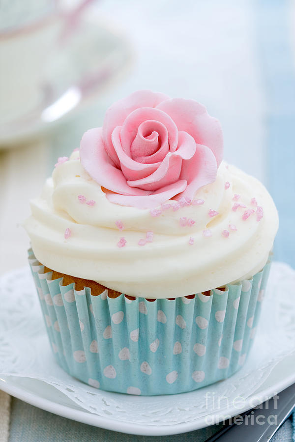 Rose Cupcake Photograph By Ruth Black