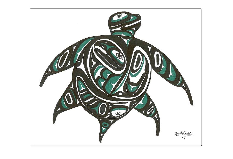 Sea Turtle Symbol Native American