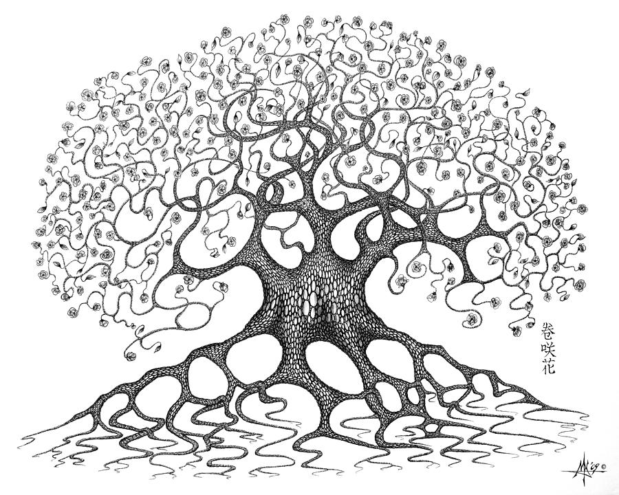 Tree Painting Inspiration On Pinterest Tree Paintings