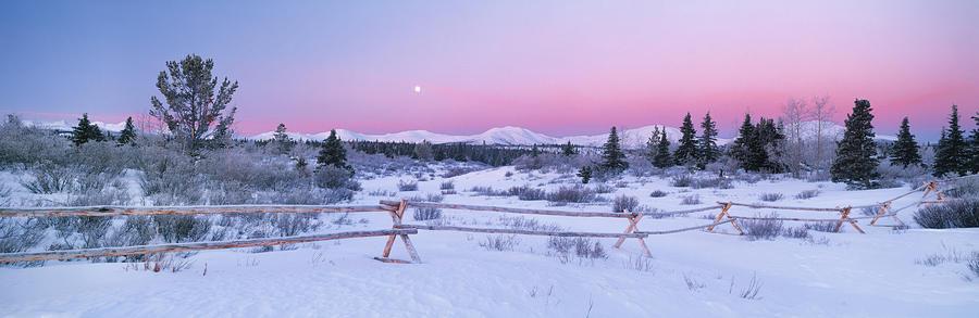 Winter Scenic Panoramic Photograph By Darwin Wiggett
