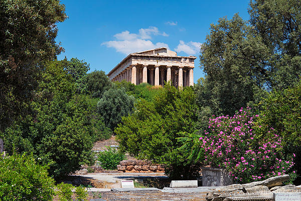 Temple of Hephaestus Photograph