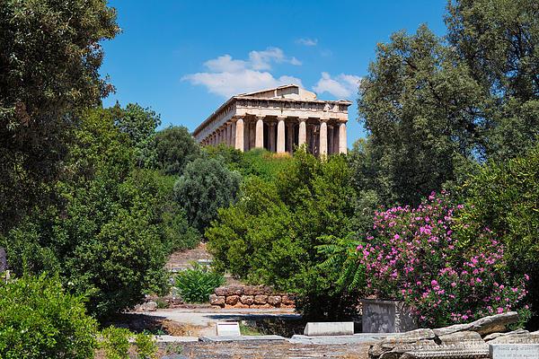 Temple of Hephaestus Photograph