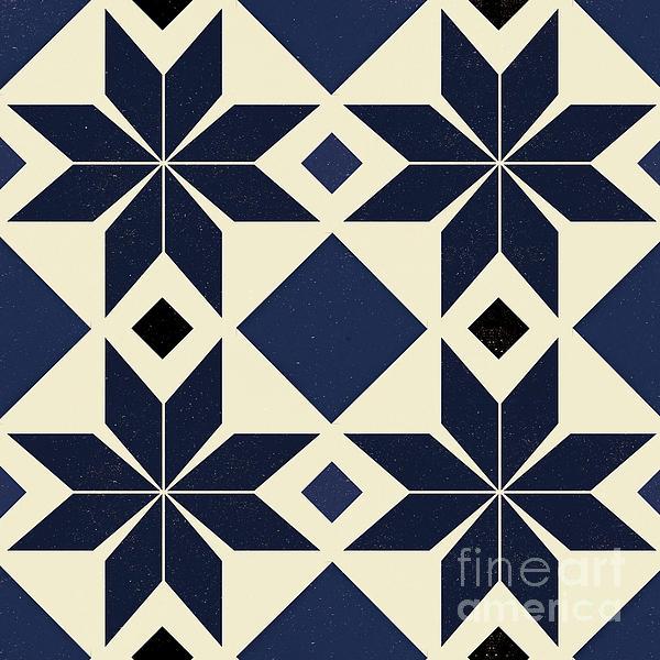 blue spanish tile puzzle