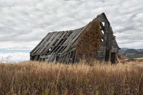 Abandoned Barn Photograph by Gej Jones