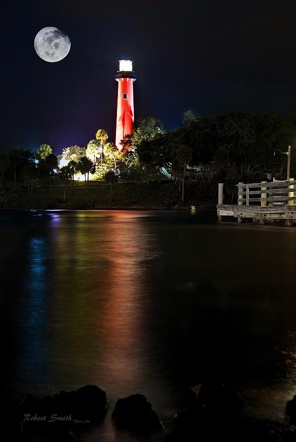 Jupiter Lighthouse Photograph By Robert Smith