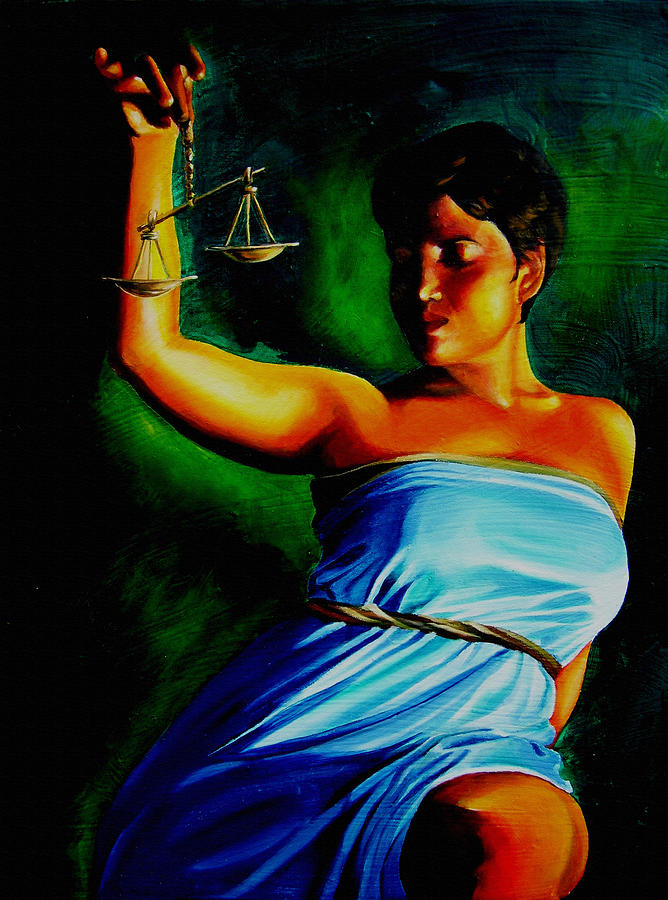 Scales Justice Wall Art