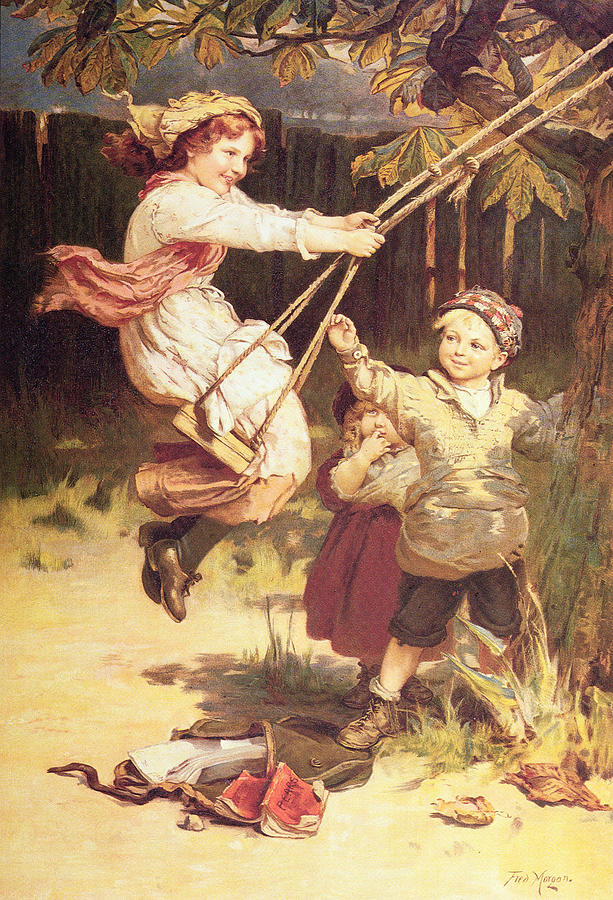 After School Painting By Frederick Morgan