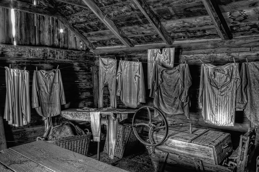 Chinese Laundry In Montana Territory Photograph By Daniel