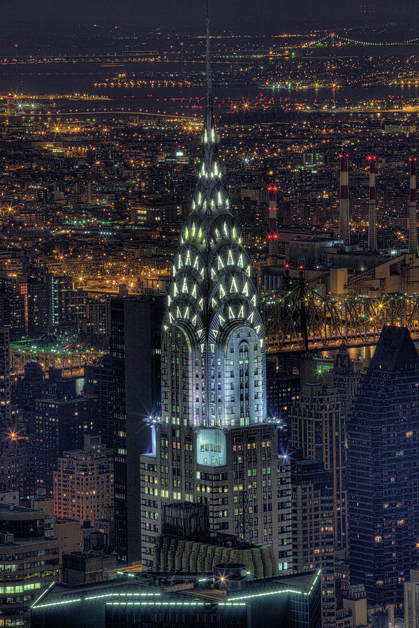 Chrysler Building At Night Photograph By Jason Pierce Photography Jasonpiercephotographycom