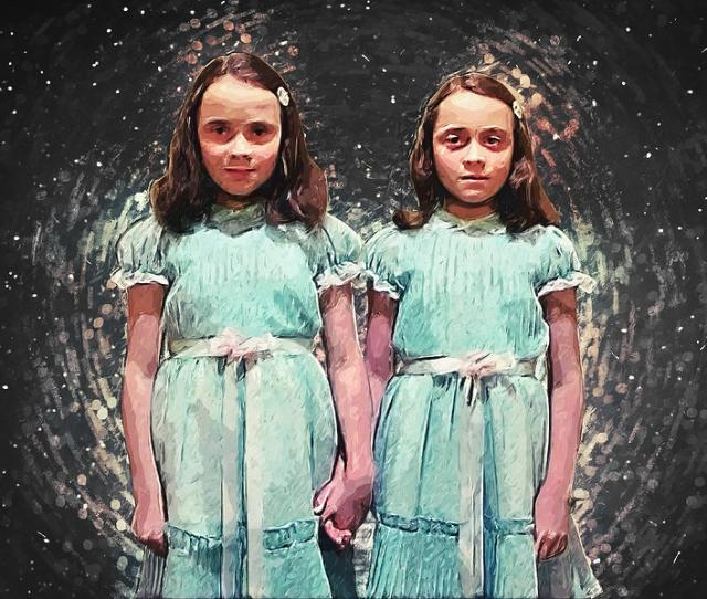 The Shining Digital Art Come Play With Us The Shining Twins By Zapista
