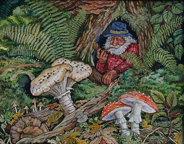 Image result for gnome painting