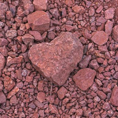 Image result for red rocks shaped like hearts