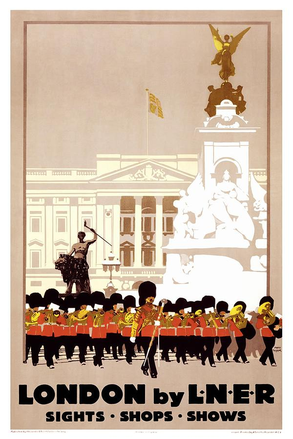 london by lner london and north eastern railway retro travel poster vintage poster by studio grafiikka