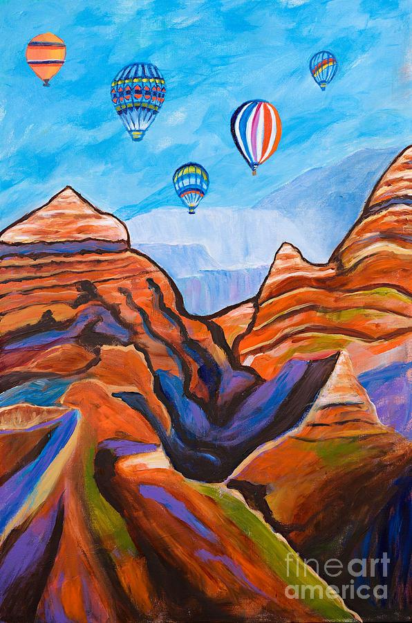 hot air balloon grand canyon # 91