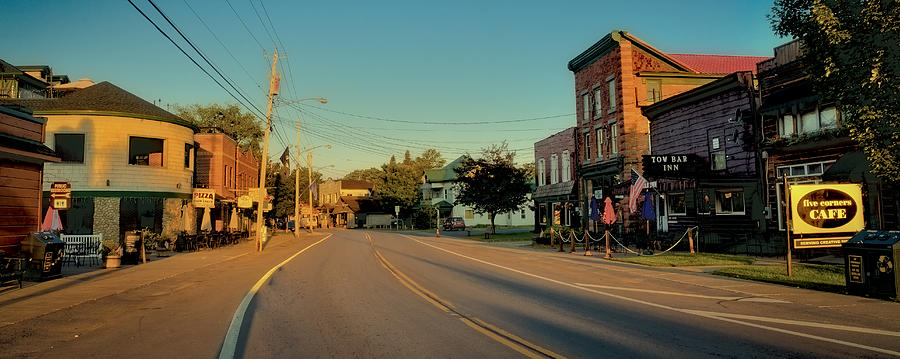 Main Street Old Forge New York Photograph By David Patterson