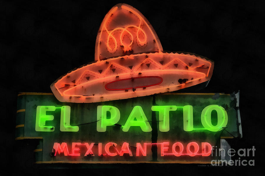 neon sign series mexican food austin texas by edward fielding