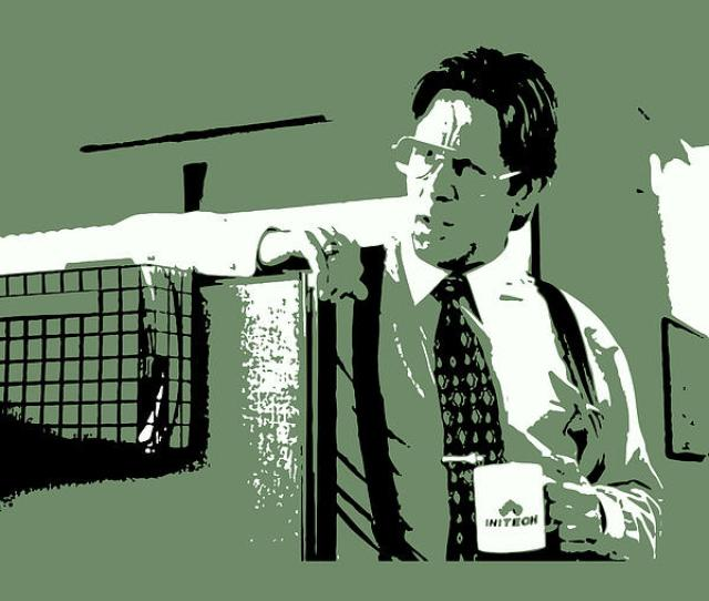 Office Space Mixed Media Office Space Bill Lumbergh Movie Quote Poster Series  By Design