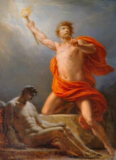 Image result for prometheus painting