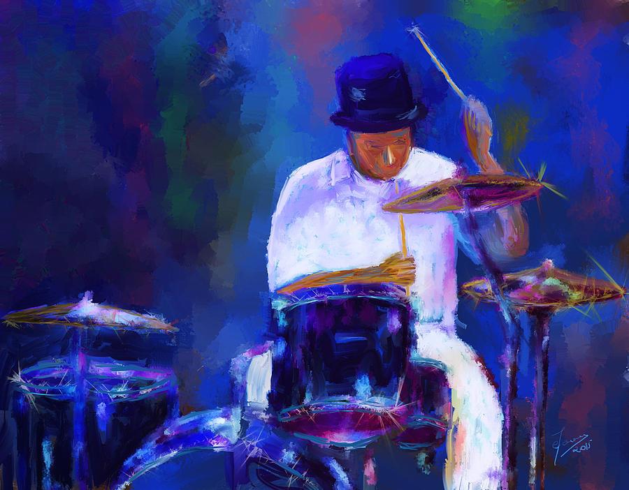 Elijah Drummer Paintings