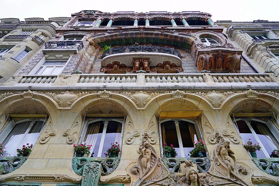 art nouveau architecture in paris france by rick rosenshein
