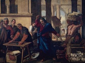 expulsion Of The Moneychangers From The Temple', 1630-1640 ...