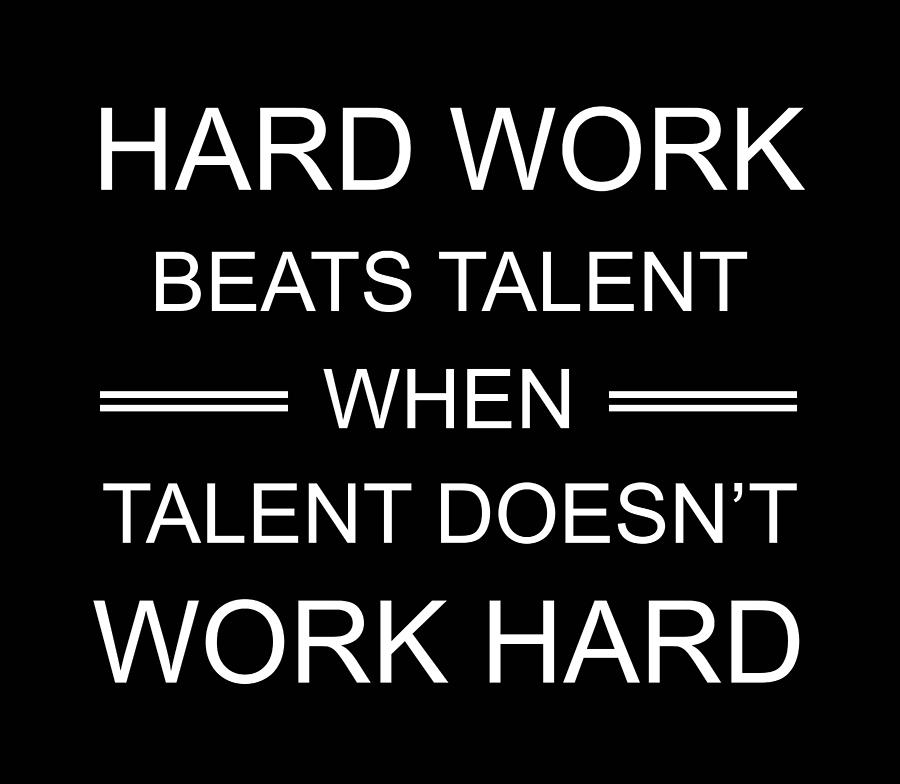 Hard Work Quotes - Motivational Quotes - Minimalist Poster ...