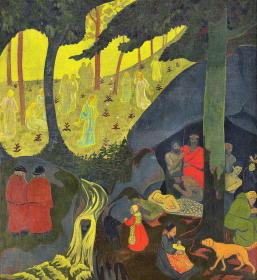 Celtic Tale - Digital Remastered Edition Painting by Paul Serusier
