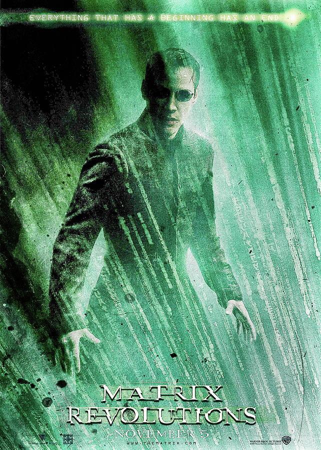 matrix revolution movie poster by benjamin dupont