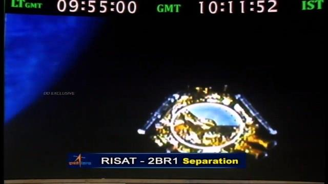 PSLV-C48/RISAT-2BR1: ISRO successfully launches Indian defense satellite RISAT-2BR1, 9 commercial payloads to orbit