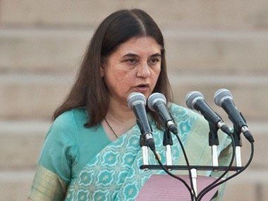 EC issues show cause notice to Maneka Gandhi over 'vote for me' remark to Muslim community in Sultanpur rally