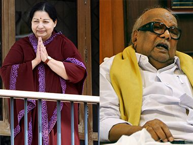 Jayalalithaa-Karunanidhi rivalry: How a poet and an actress ruled the state  - Politics News , Firstpost